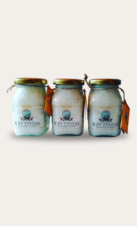 K BY TYNDIS Organic Virgin Coconut oil - 200ml - 2.png